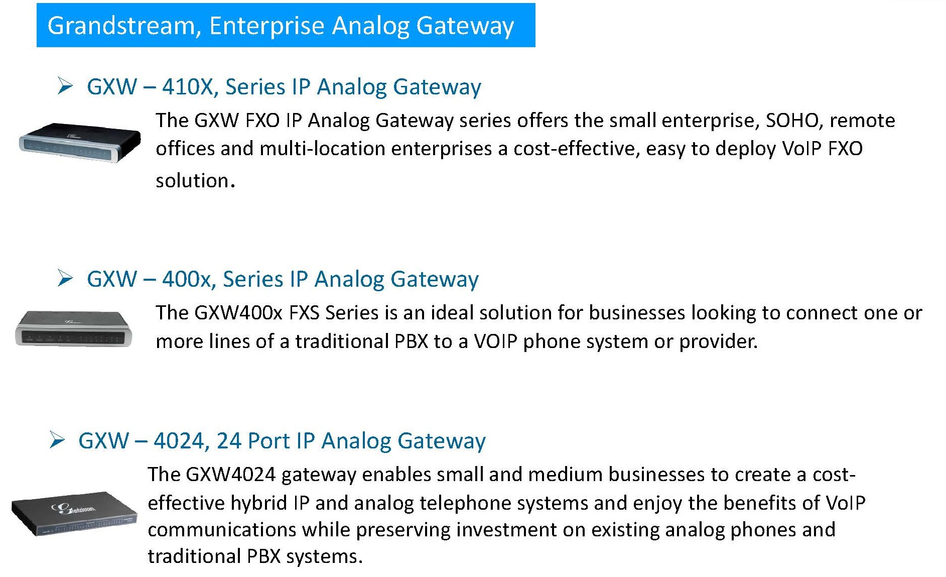 SDG Enterprise Voice Solution for SOHO and SMB segment Page 13